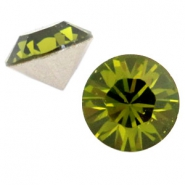 Swarovski Elements SS 24 Chaton (5.2 mm) Olivine green