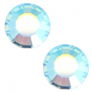 Swarovski Elements SS34 flat back (7mm) Aquamarine blue