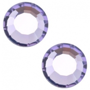 Swarovski Elements SS34 flat back (7mm) Tanzanite purple