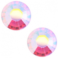 Swarovski Elements SS34 flat back (7mm) Rose aurore boreale
