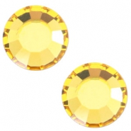 Swarovski Elements SS34 flat back (7mm) Light topaz yellow