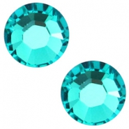 Swarovski Elements SS30 flat back (6.4mm) Blue zircon