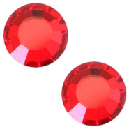 Swarovski Elements SS30 flat back (6.4mm) Light siam red