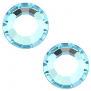 Swarovksi Elements verschiedene Formen SS16 flat back (3.9mm) Aquamarine blue
