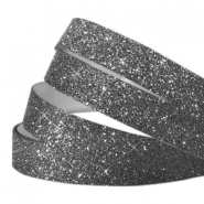 Crystal Glitzer tape 10mm Dark grey