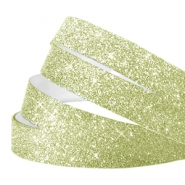 Crystal Glitzer tape 10mm Light green