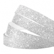 Crystal Glitzer tape 10mm Silver