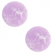 Cabochon Basic flach Stone Look 20mm Lavender purple