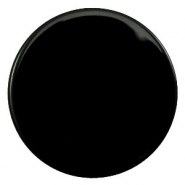 35 mm flach Cabochons Polaris Elements pearl shine Black