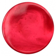 35 mm flach Cabochons Polaris Elements pearl shine Jester red