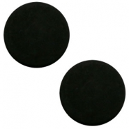 7 mm flach Cabochon Polaris Elements matt Black