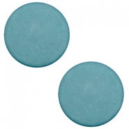 20 mm flach Cabochon Polaris Elements matt Dark sea blue