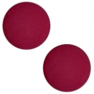 12 mm flach Cabochon Polaris Elements matt Velvet purple