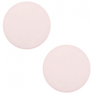 20 mm flach Cabochon Polaris Elements matt Tea rose pink