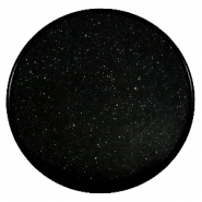 35 mm flach cabochons Super Polaris Black