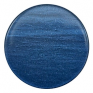 35 mm flach cabochons Super Polaris Night blue