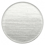 35 mm flach cabochons Super Polaris Light cloudy grey