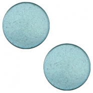7 mm flach Cabochon Super Polaris Dark sea blue