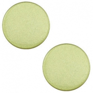 12 mm flach Cabochon Super Polaris Salvia green