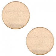 12 mm flach Cabochon Super Polaris Hazel brown