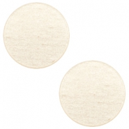 7 mm flach Cabochon Super Polaris Moonlight yellow