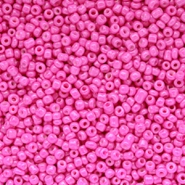 Glasperlen Rocailles 12/0 (2mm) Fuchsia purple