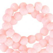 Sparkling beads 6mm Light Pink