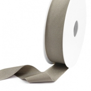 Elastisches Band Ibiza 25mm Metallic taupe