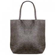 Fashion Tasche/Shopper Anthracite grey