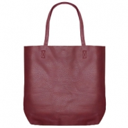 Fashion Tasche/Shopper Aubergine red