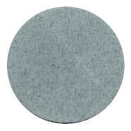 DQ Leder Cabochon 35mm Grey