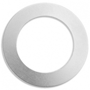 ImpressArt Stempel Labels Ring 38mm Aluminium Silber
