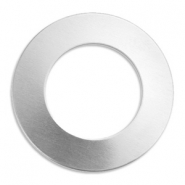 ImpressArt Stempel Labels Ring 32mm Aluminium Silber