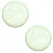 7 mm classic Cabochon Polaris Elements Mosso shiny Relaxing green