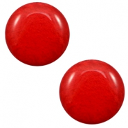 20 mm classic Cabochon Polaris Elements Mosso shiny Candy red