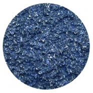 35 mm flach cabochons Polaris Elements Goldstein Cobalt blue