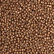Glasperlen Rocailles 12/0 (2mm) Bronze brown