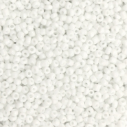 Glasperlen Rocailles 12/0 (2mm) White
