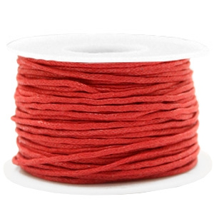 Wachskordel 1.5mm Warm red