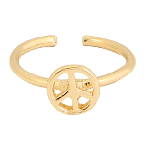 Musthave Ringe Peace Gold