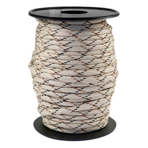 Trendy kordel rund Paracord 4mm Beige-brown